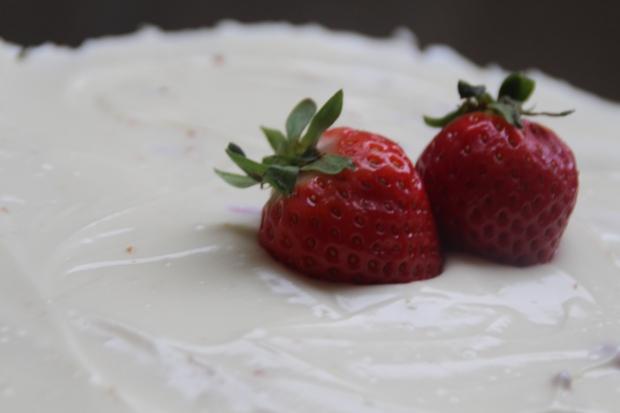 crème et fraises