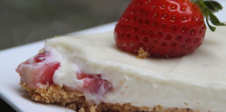 cheesecake chocolat blanc coeur fraise